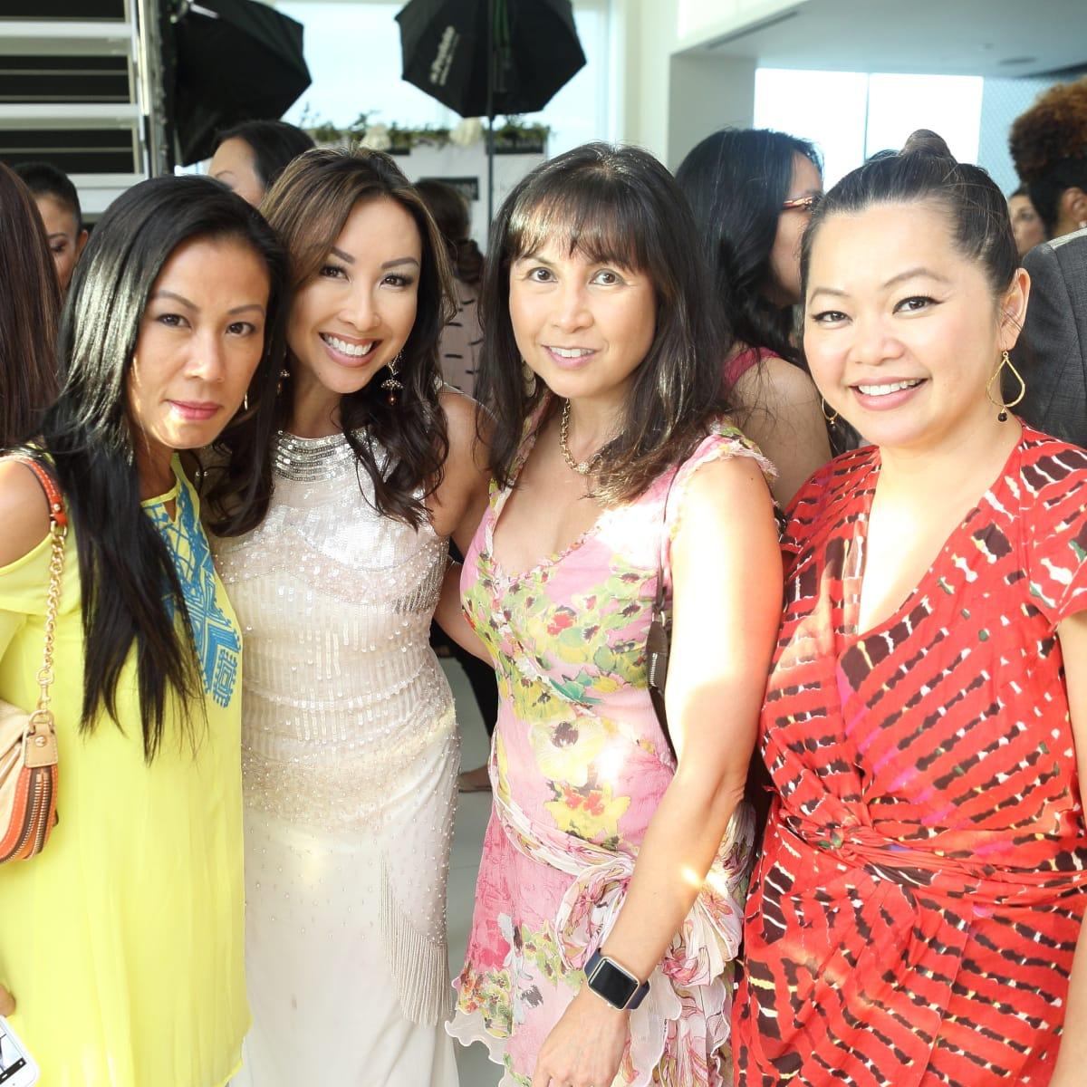 CKW Luxe Star Awards 6/16 Chau Nguyen, Lily Jang, Christine Delon, Chloe Dao