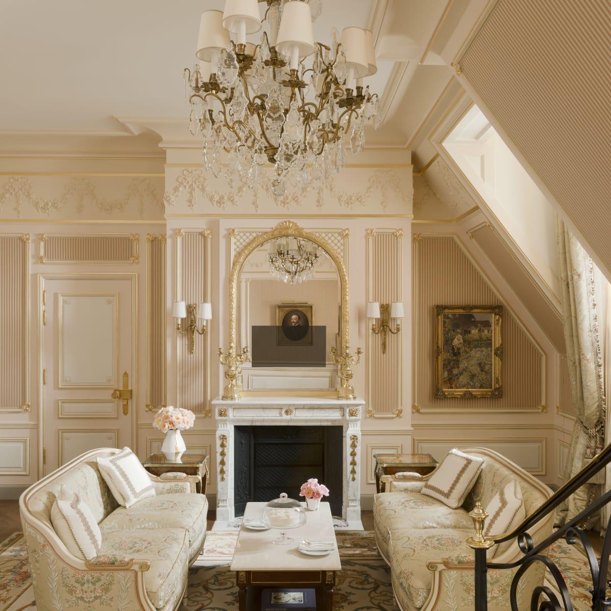 Ritz Hotel Paris, June 2016 Suite Cesar Ritz