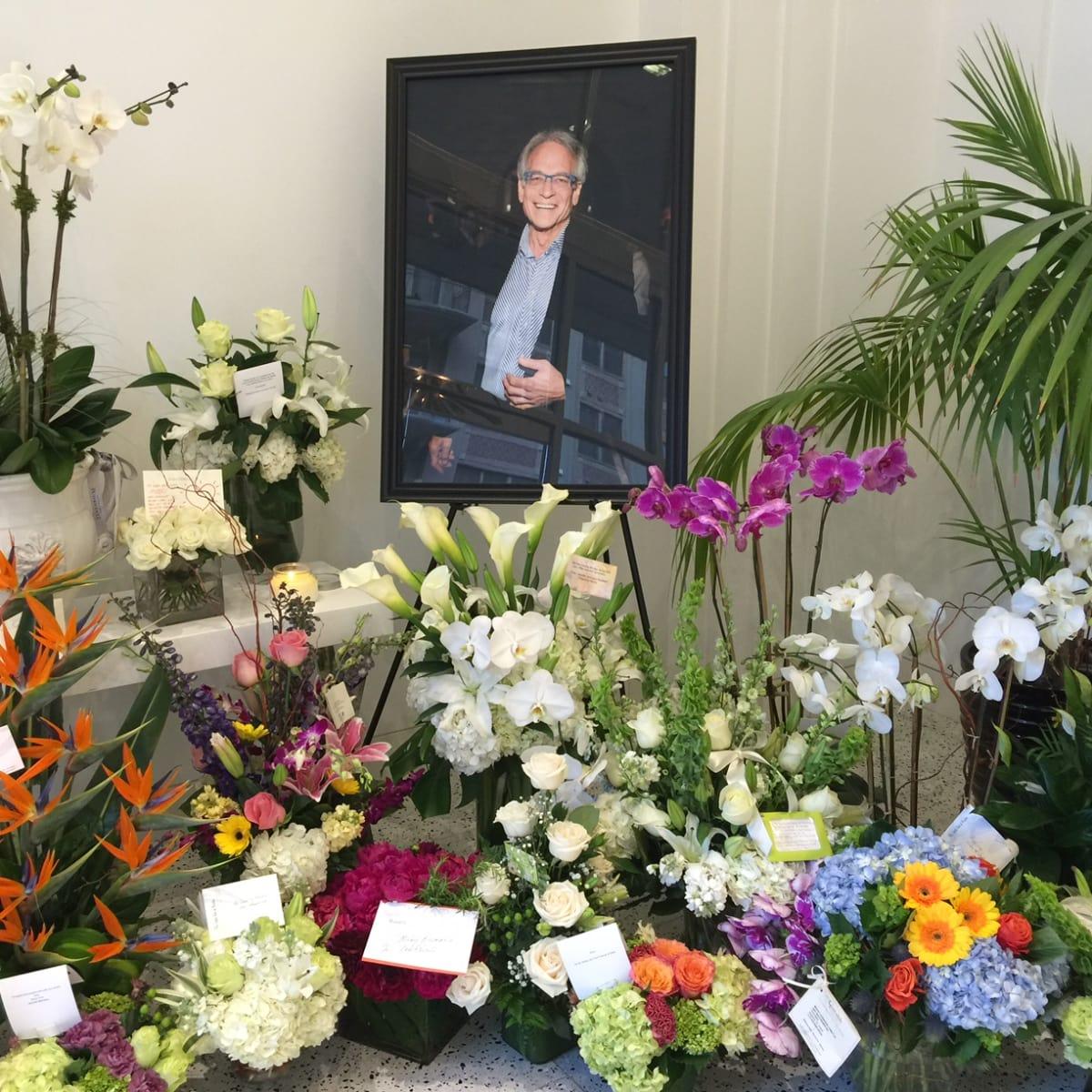 Mickey's Memorial 6/16 flowers