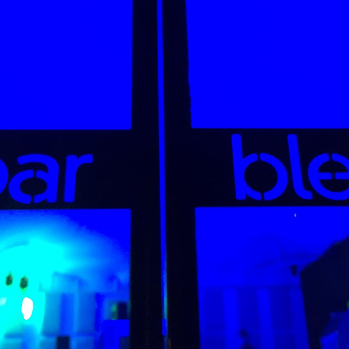 Houston, First Look at Bar Bleu, June 2016, front doors
