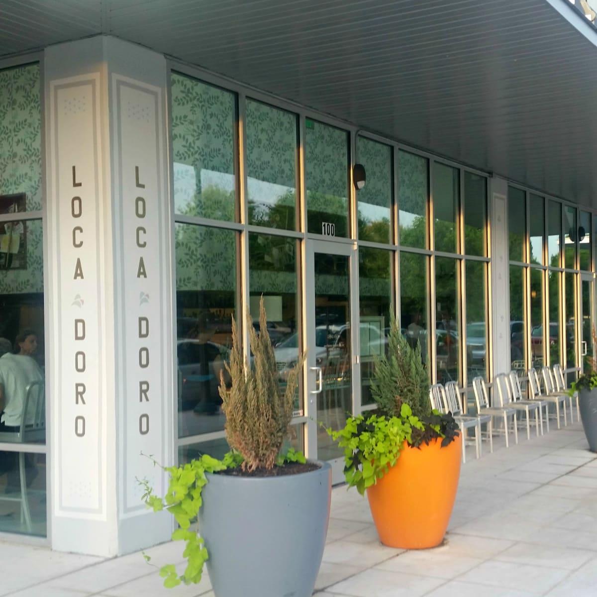L'Oca D'Oro Austin restaurant Italian exterior front