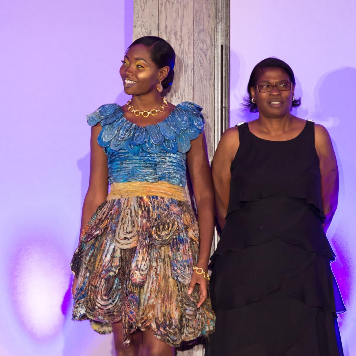 For The Sake of Art, Nevelyn Williams, yarn dress