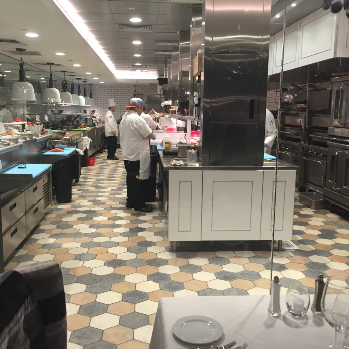 Steak 48 kitchen table