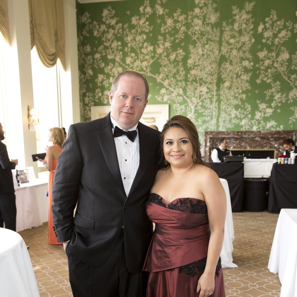 Leukemia & Lymphoma Society gala, 4/16, Michael Harris, Helen Harris