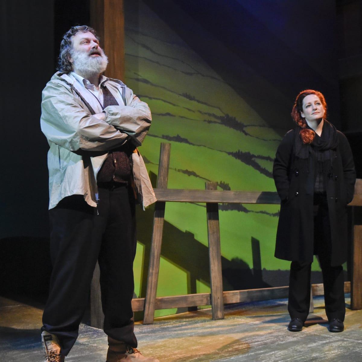 Jeremy Schwartz and Jessica Cavanaugh in Outside Mullingar