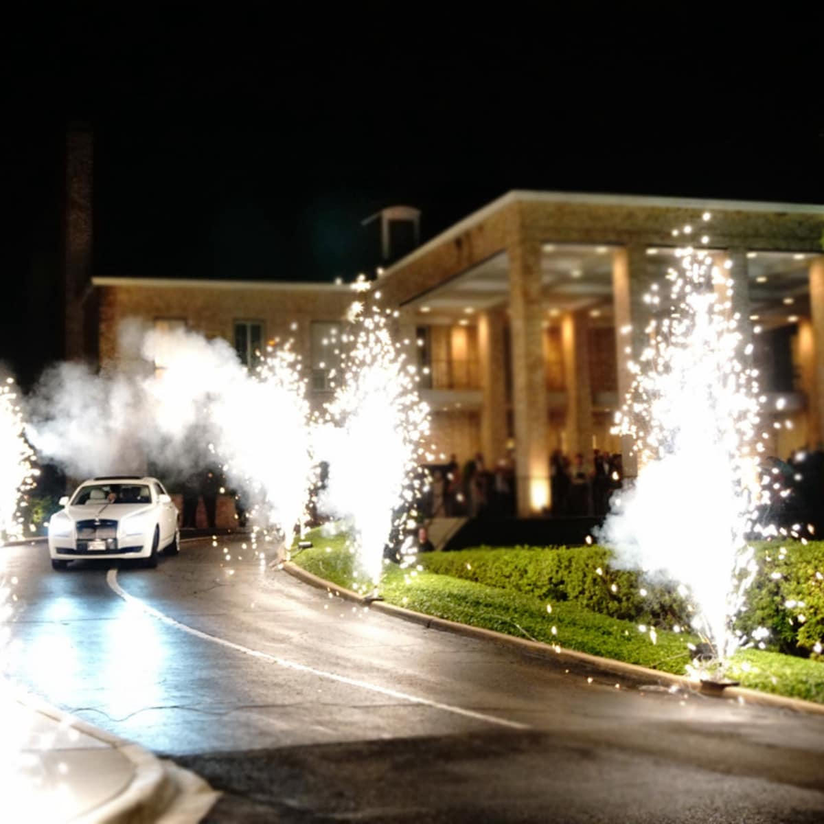 Houston, Chita Johnson wedding, June 2016, fireworks