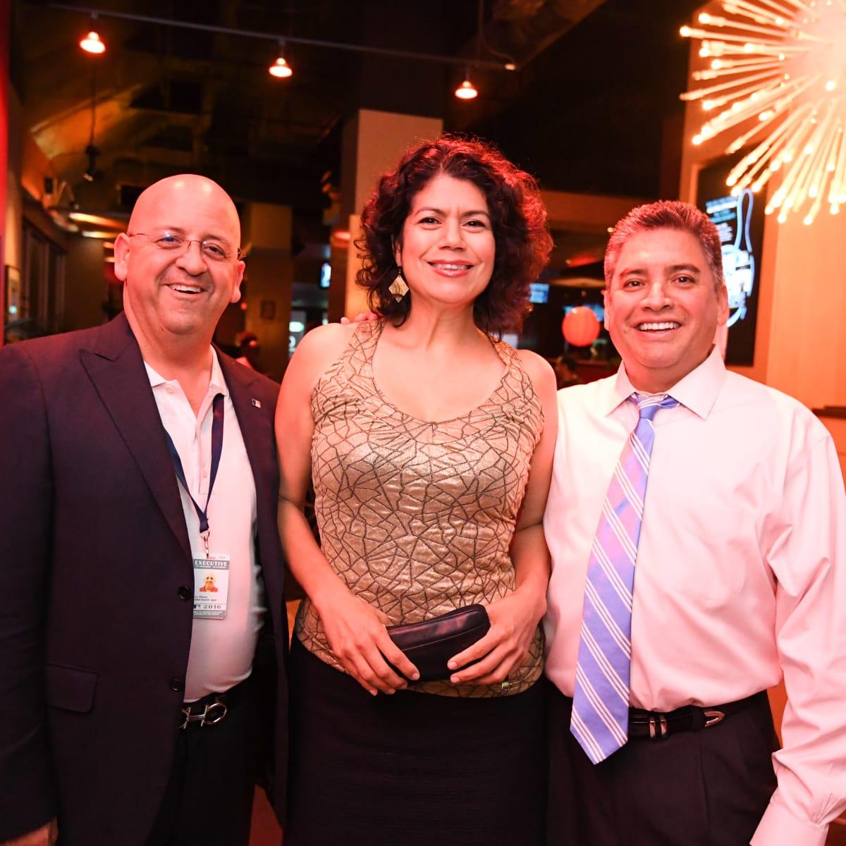 Houston, George Spring Bowling Event, June 2016, Jerry Flores, Carol Alvarado, Gerard Torres