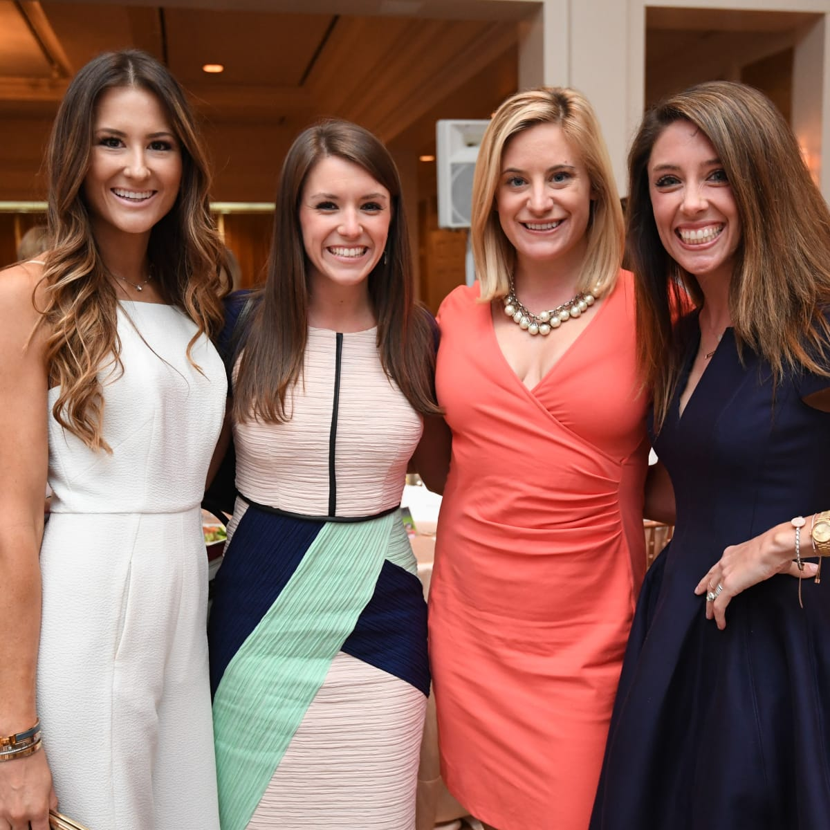 Star of Hope luncheon 5/16 Elizbeth Wood Edgeworth, Laura Piatkowski, Alexis Caruselle, Jennifer Welker