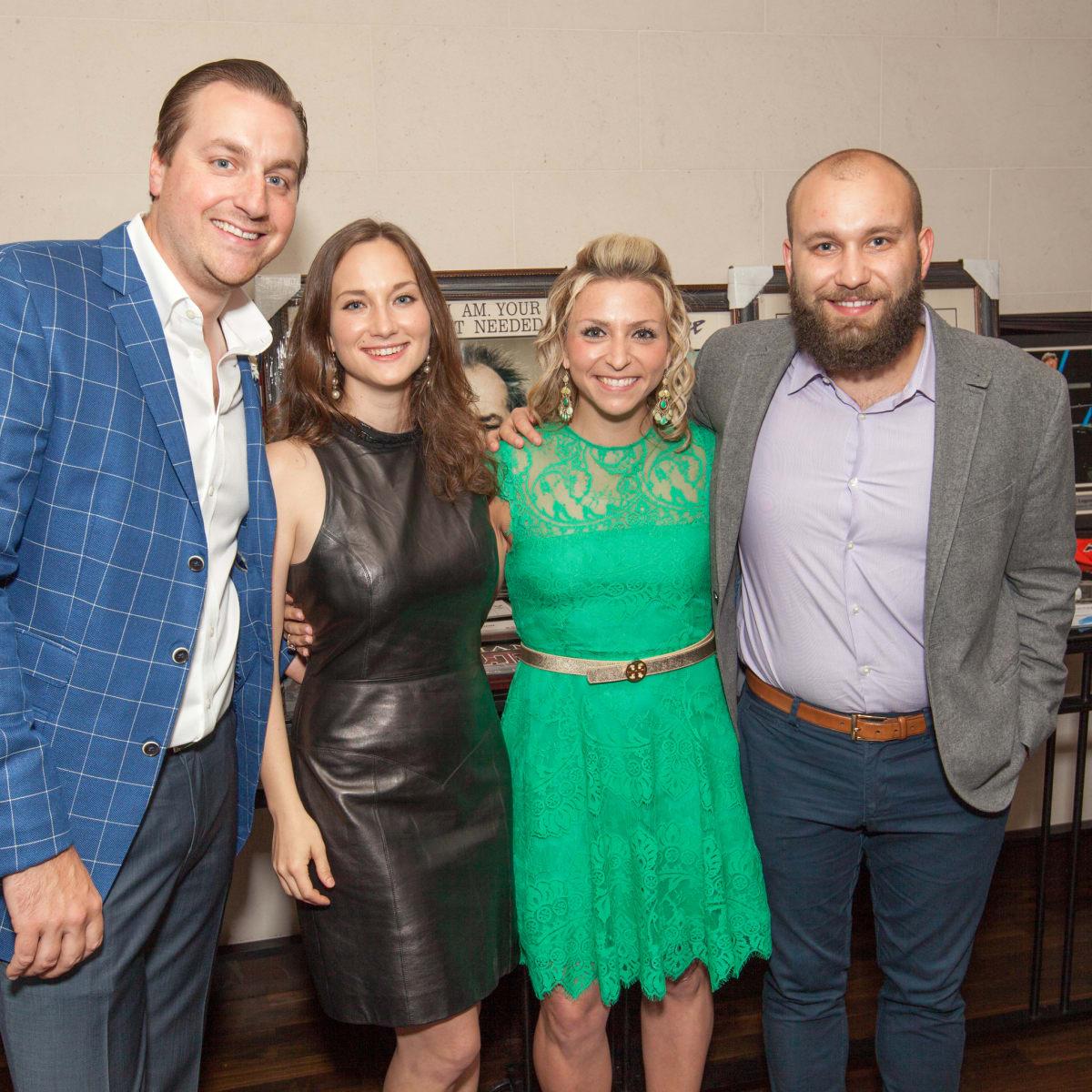 Houston, Homemade Hope's Spring Soiree, May 2016, Bruce Kish, Katherine Morrille, Nicole Ebert, Duncan Balcom