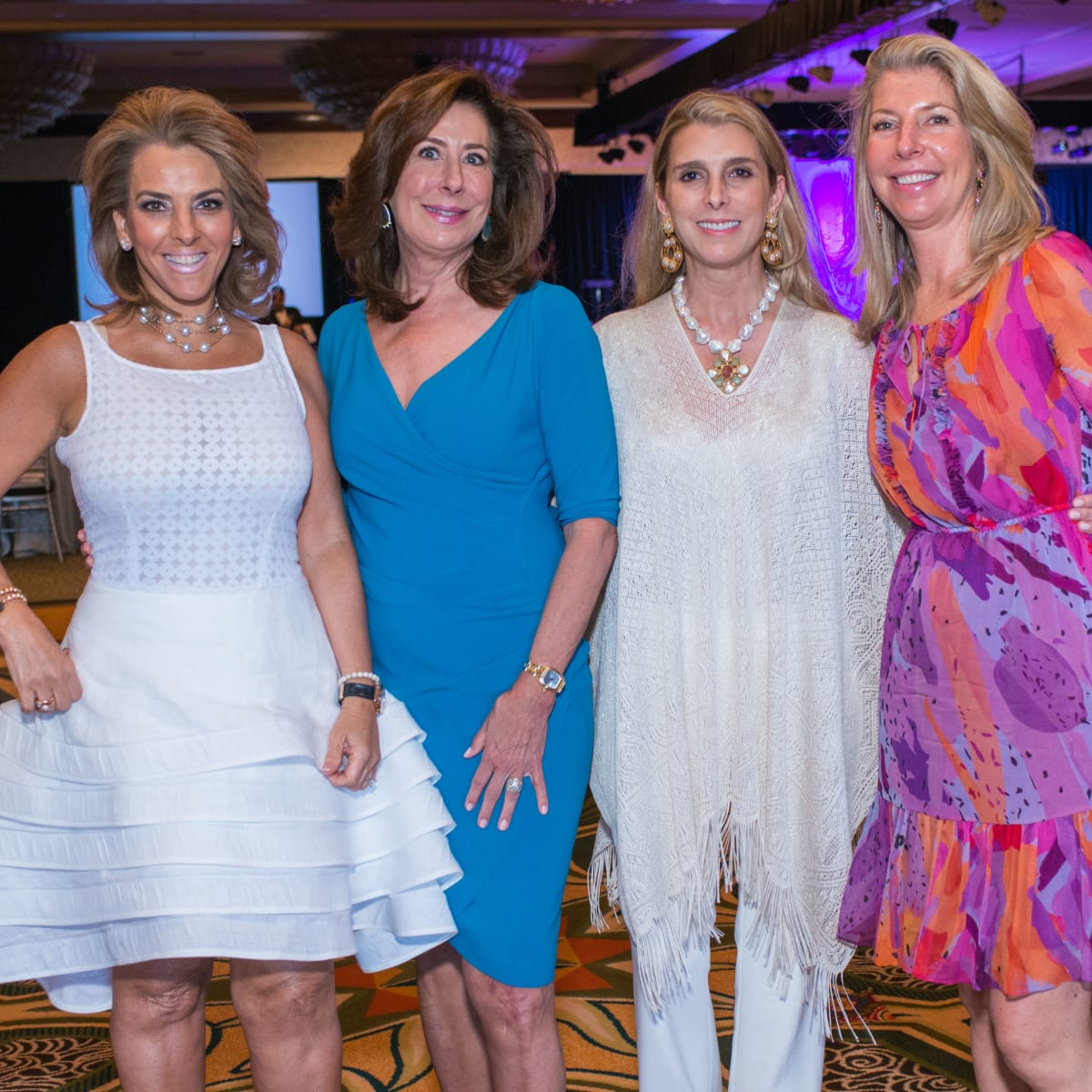 Latin Women's Initiative luncheon 5/16,Mary Tere Peresquia, Vesta Frommer, Patricia Griffith, Christiana Anderson