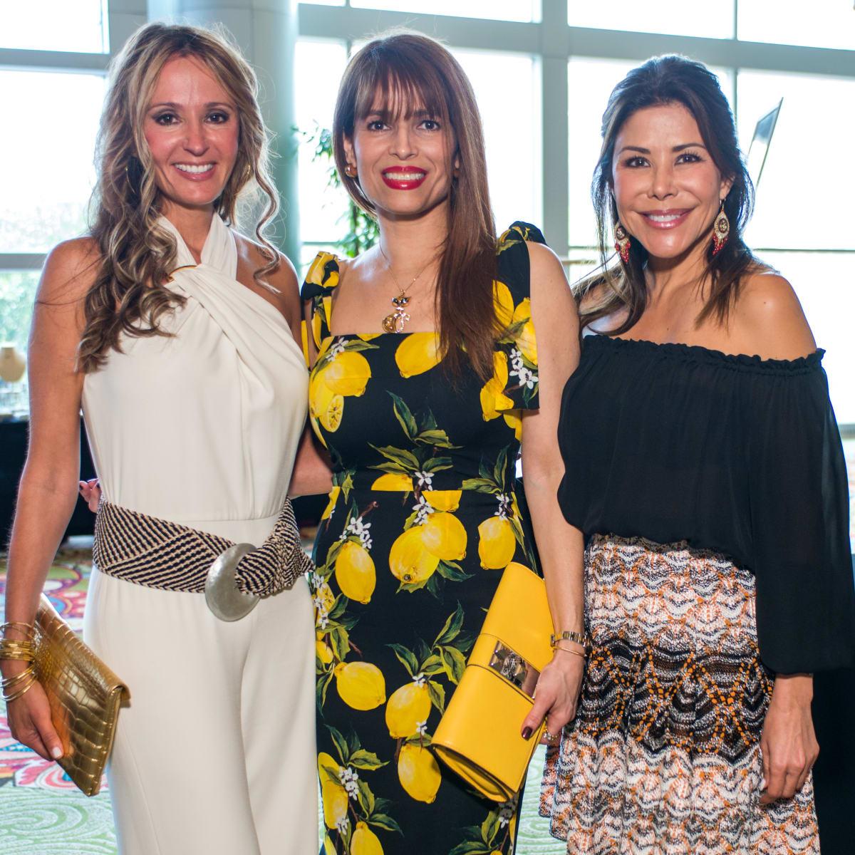 Latin Women's Initiative luncheon 5/16, Cindy Garza, Karina Barbieri, Ericka Bagwell