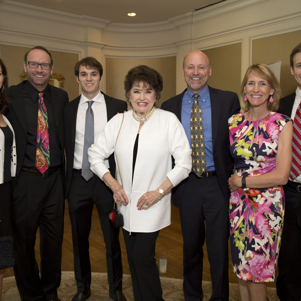 Houston, I Am Waters 5th Annual Supermodel Luncheon, May 2016, Angie Roberts, Cliff Roberts, Lee Roberts, Warner Roberts Bobby Roberts, Kristan Roberts, Bobby Roberts III
