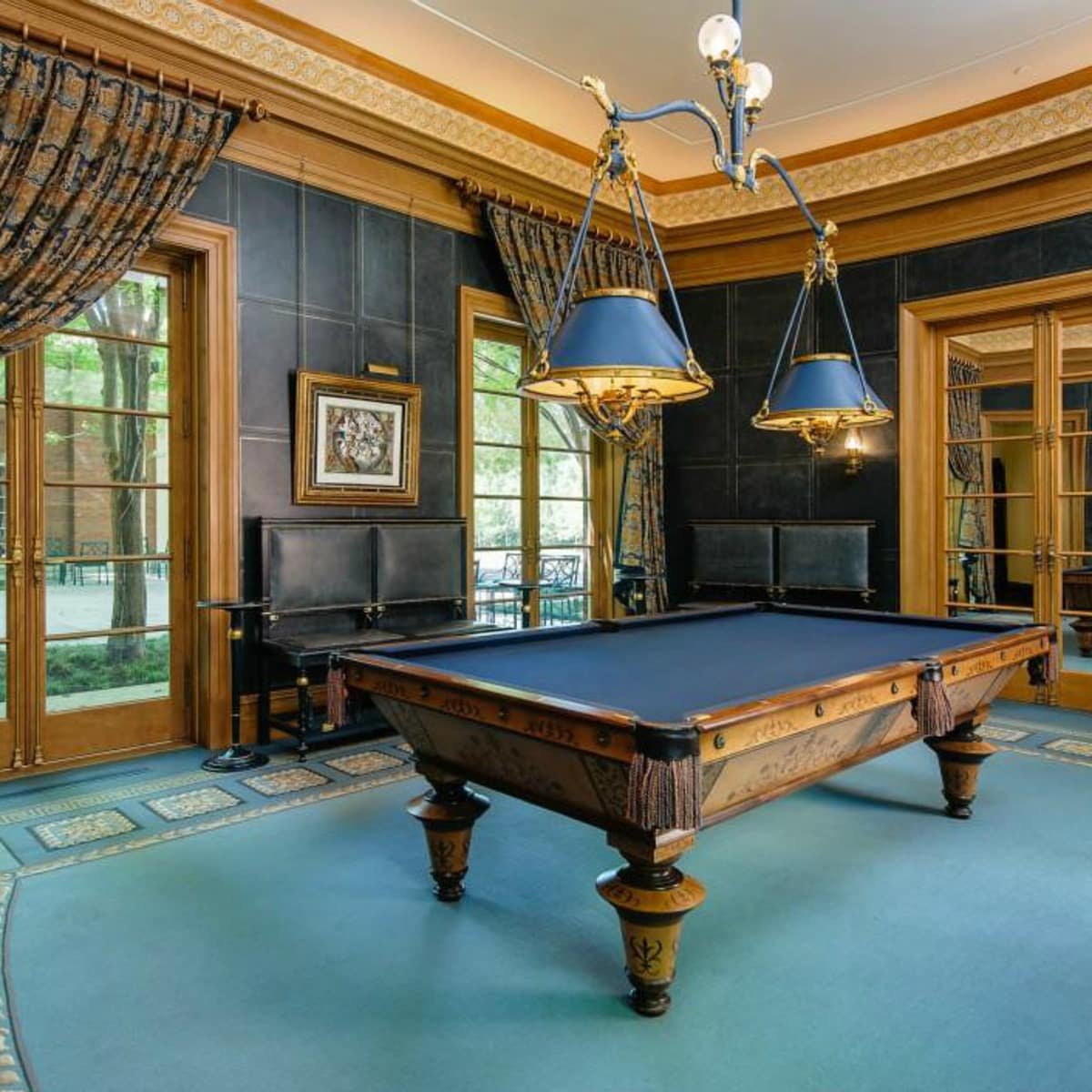 5950 Deloache Ave. for sale in Dallas billiard room