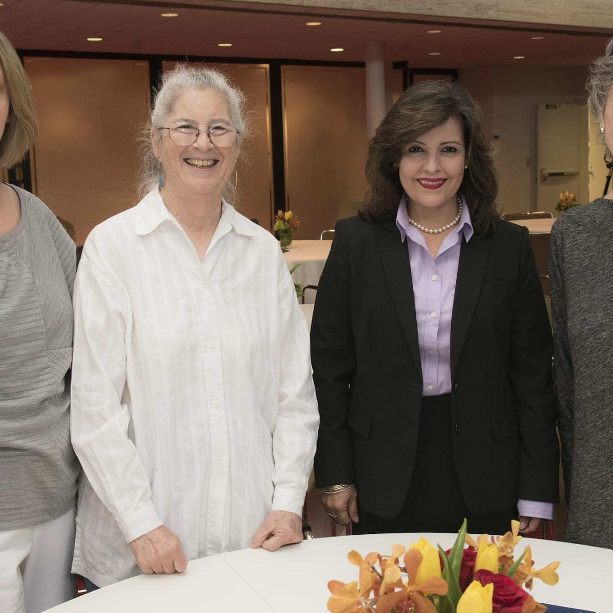 Women in Leadership luncheon LBJ Future Forum May 2016 Marilyn Talkington Joanne Richards Ana Jordan Jane Scroggs