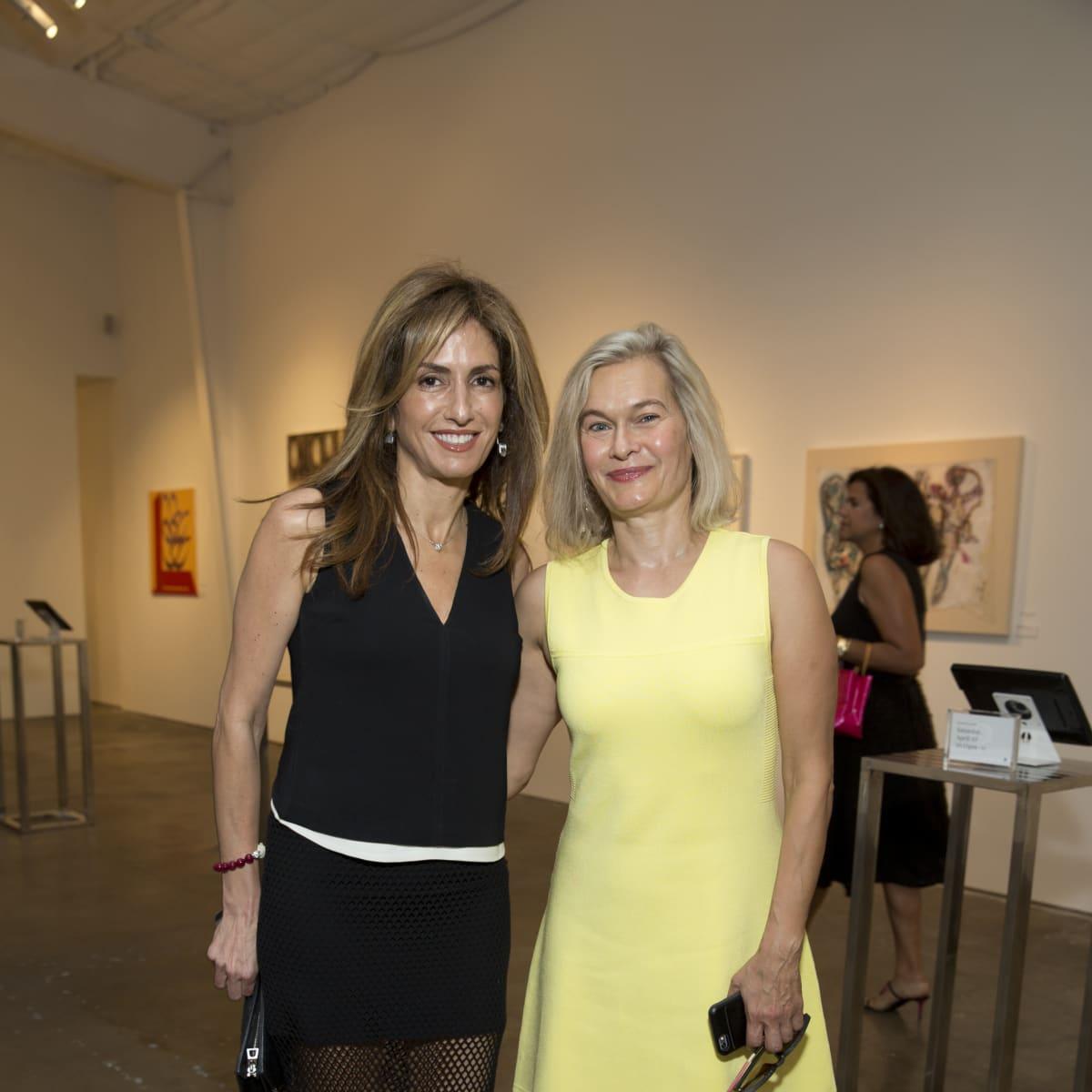 UNICEF Art Auction, 5/16 Sima Ladjevardian, Rana Abboushi