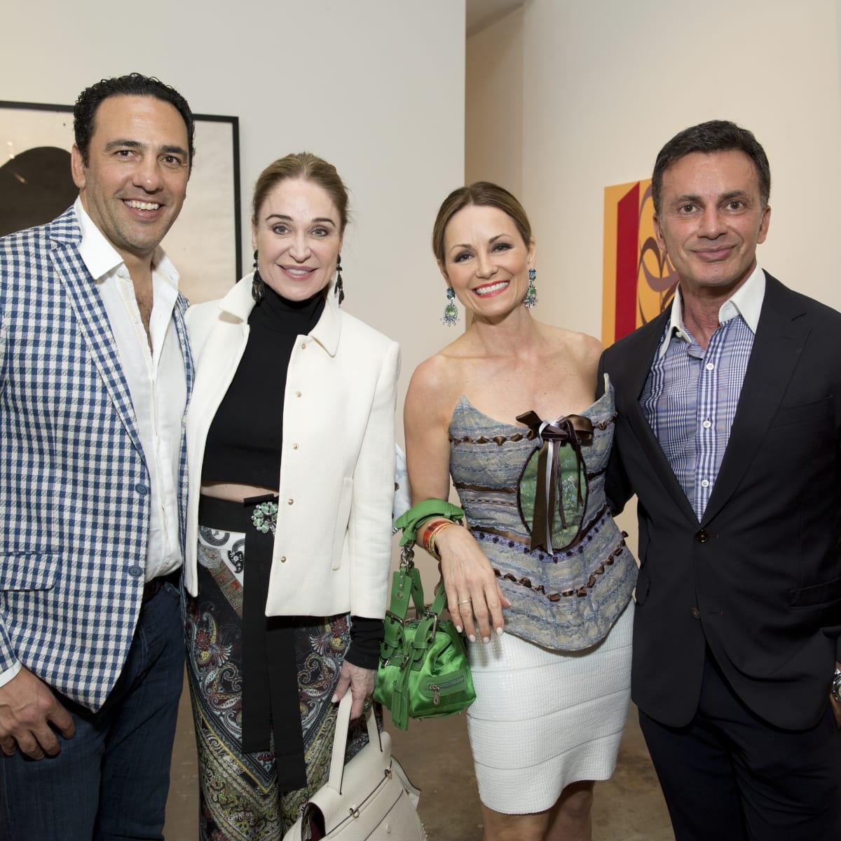 UNICEF Art Auction, 5/16  Javier Loya, Becca Cason Thrash, Lucinda Loya, Monsour Taghdisi