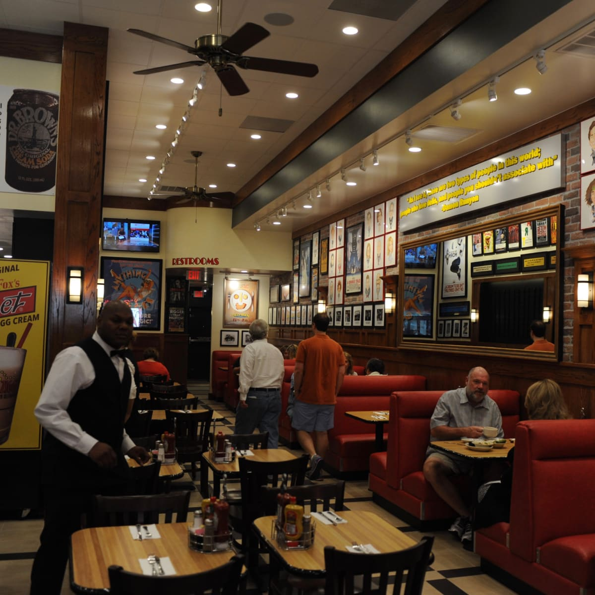 Kenny & Ziggy's West University interior