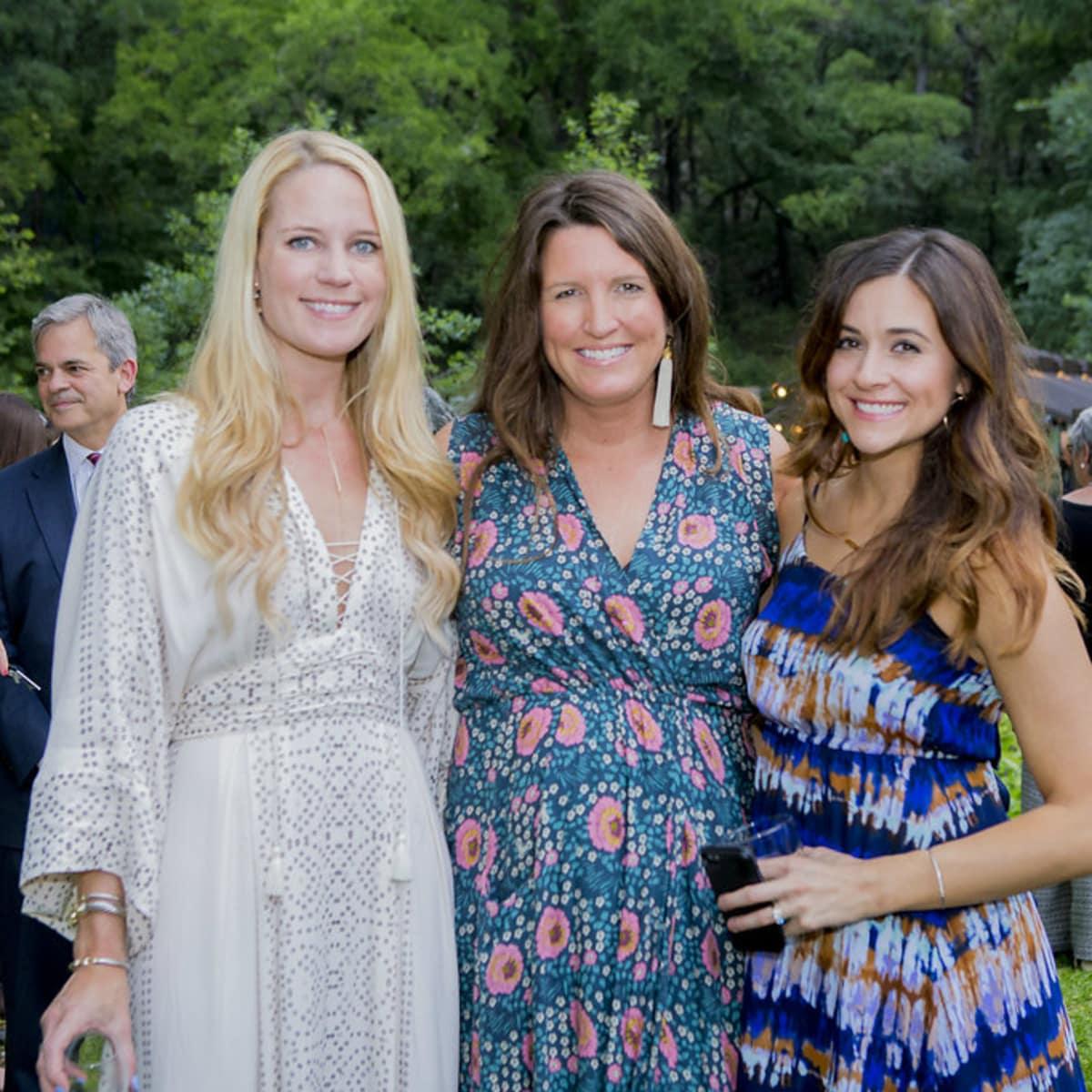 Umlauf Sculpture Garden and Museum Garden Party 2016 Lauren Peters Lacy Lyons Cassie McKinney