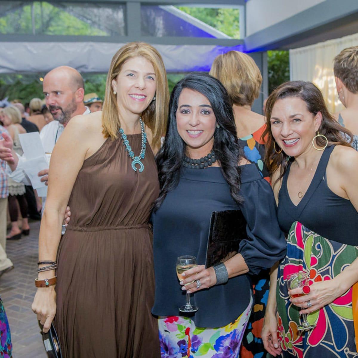 Umlauf Sculpture Garden and Museum Garden Party 2016 Elizabeth Baker Yuniedth Steen Mara Holguin Fouts