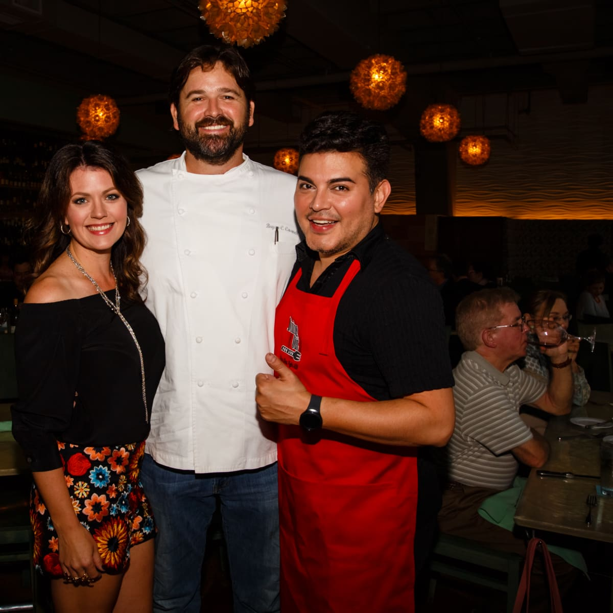Dine Out for Life 4/16 Reef, Jennifer Caswell, Bryan Caswell, Edward Sanchez