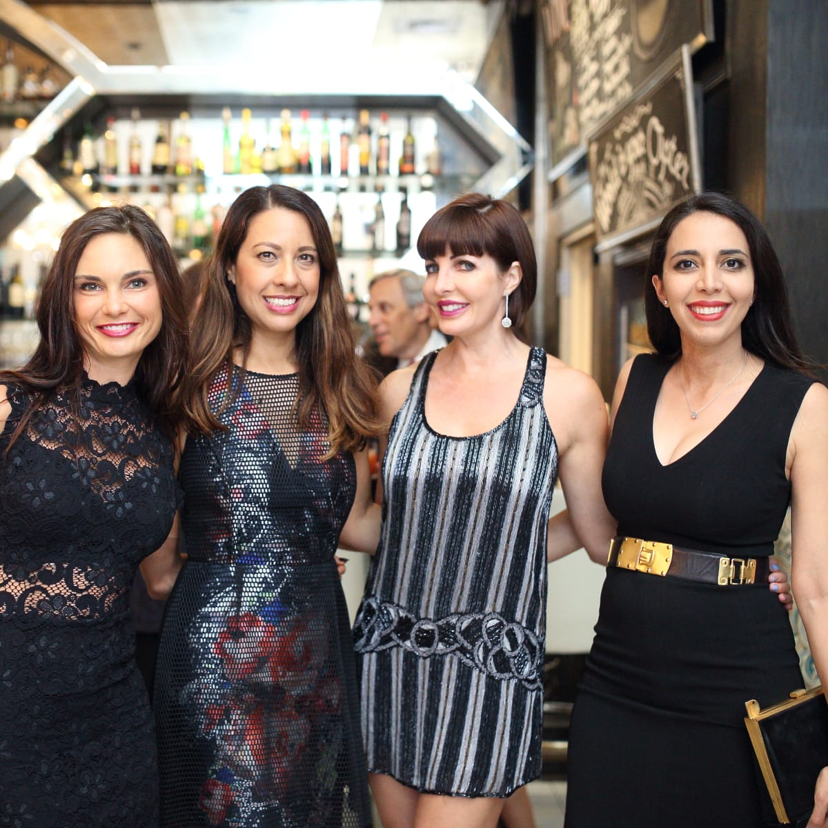 Dine Out for Life 4/16, Amanda Russel, Anika Jackson, Staci Henderson, Dr. Sanaz Harirchian