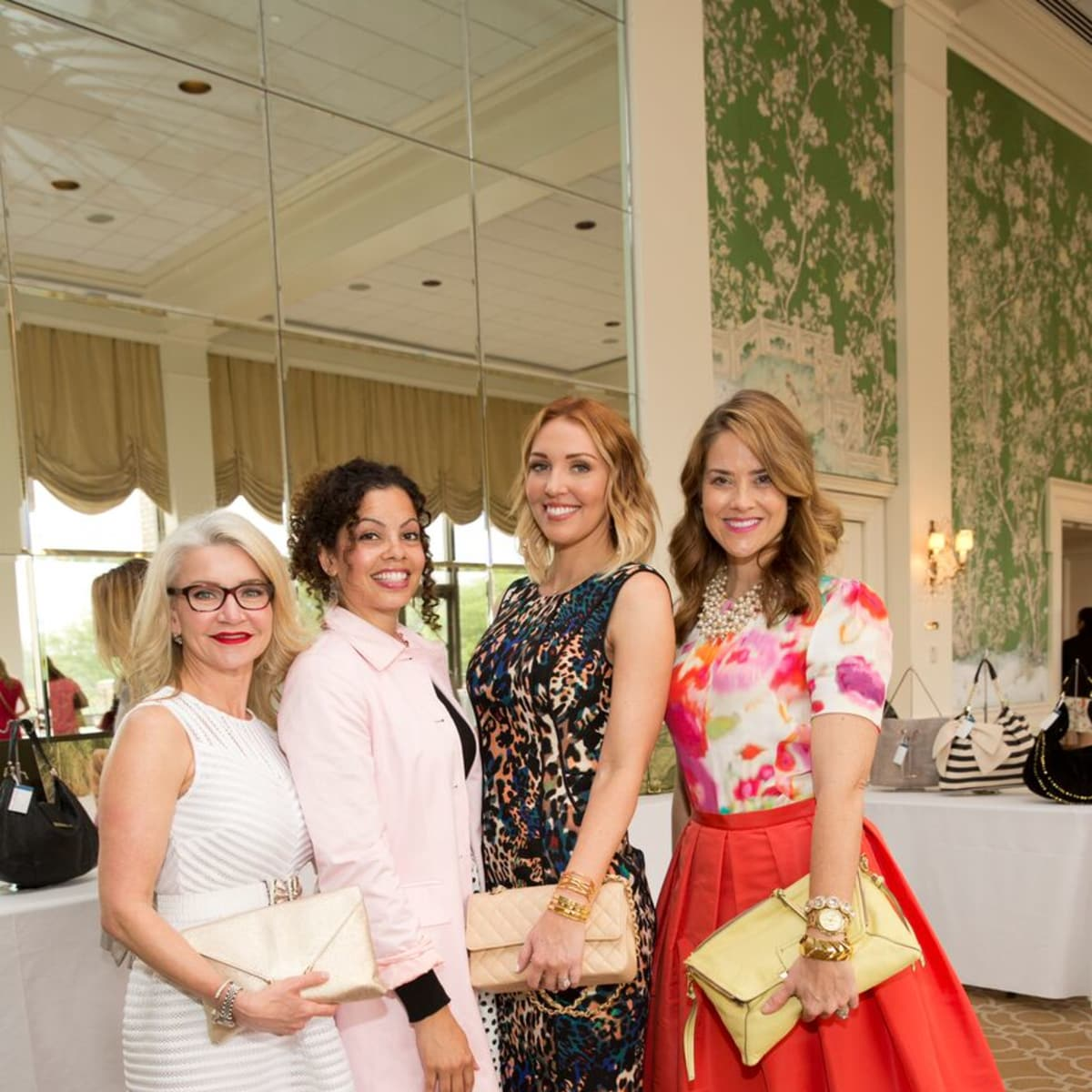 Heroes and Handbags 4/16, Maureen Semple-Hirsch, Maureen Holcombe, Natalie King, Erin Lopez