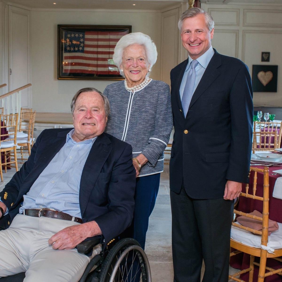 Barbara Bush Literacy Luncheon, 4/16, President George H.W. Bush, Barbara Bush, Jon Meachem