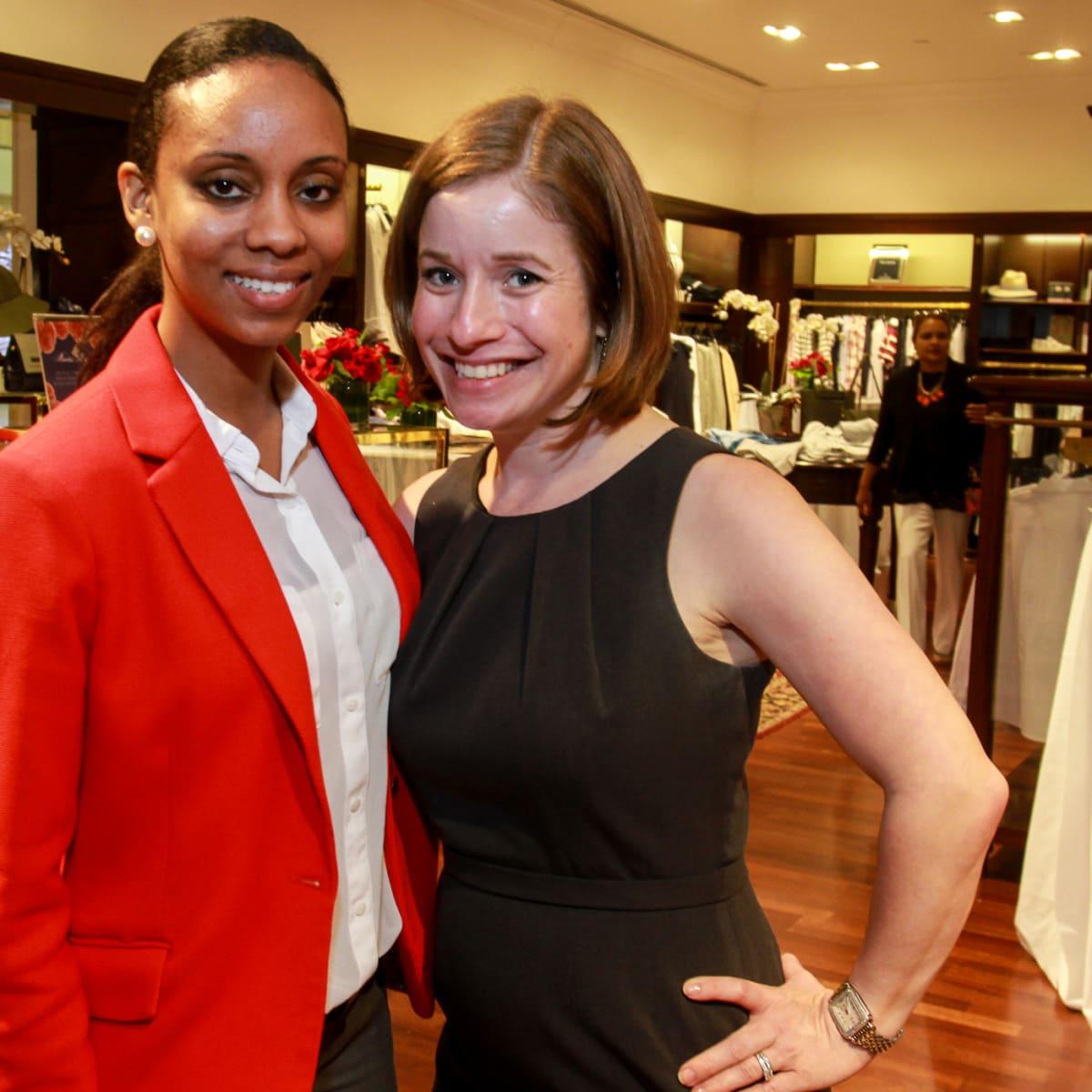 Shop With Heart Card, 4/16 Melissa Ceballos, Becky Yanez