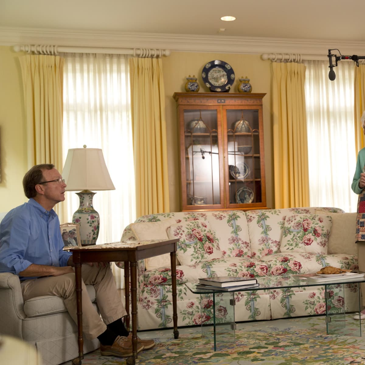 JJ Watt, Barbara Bush photo Shoot 4/2016, Neil Bush