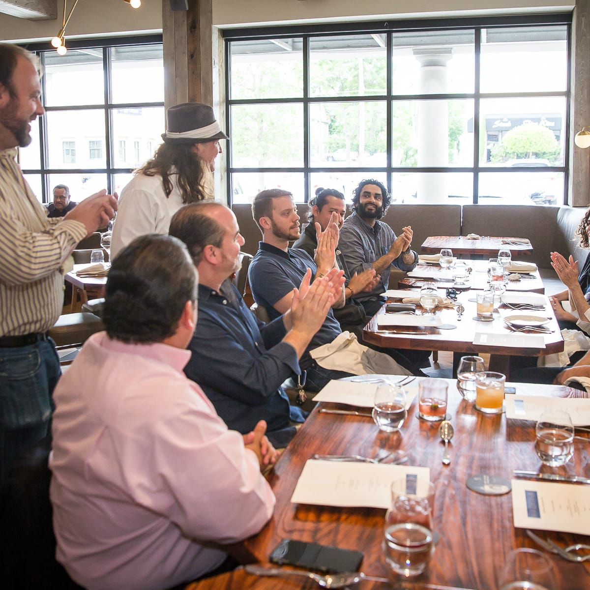 Tastemaker Awards 2016 bartender lunch with Herradura