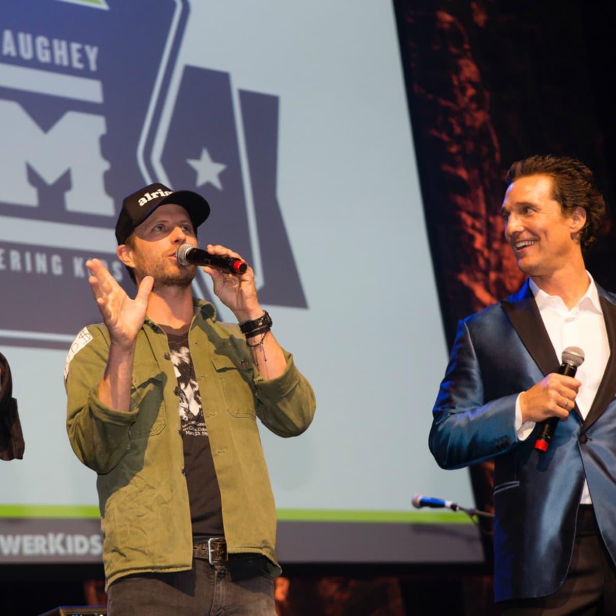 Mack Jack and McConaughey 2016 Gala Jack Ingram Dierks Bentley Matthew McConaughey