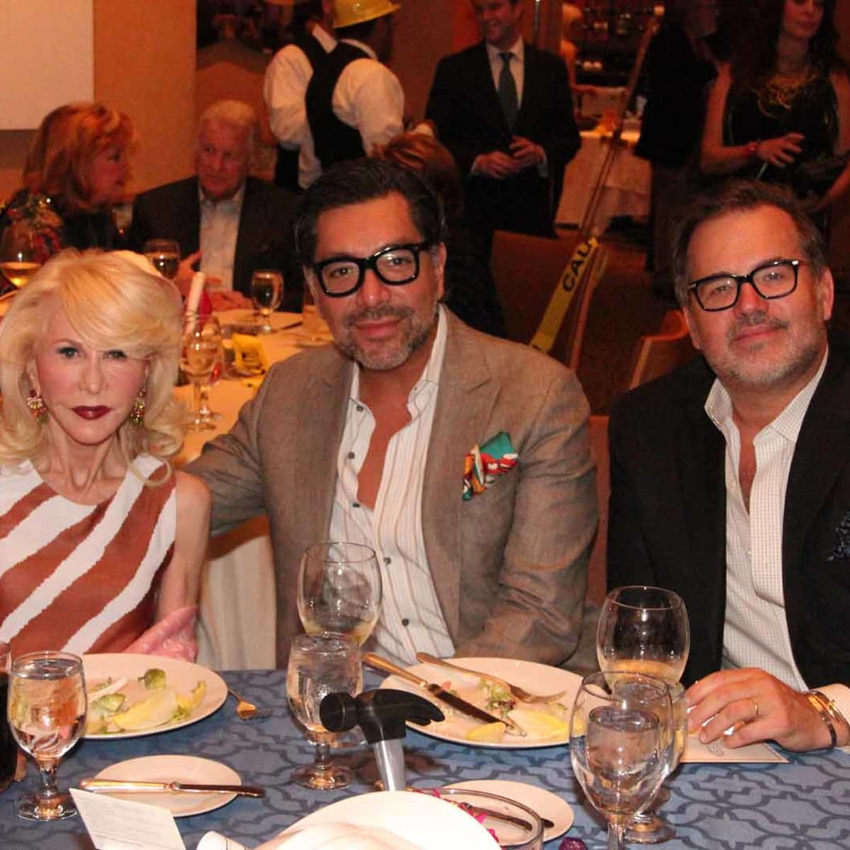 ESCAPE dinner, 4/16, Diane Lokey Farb, Ceron, Todd Fiscus