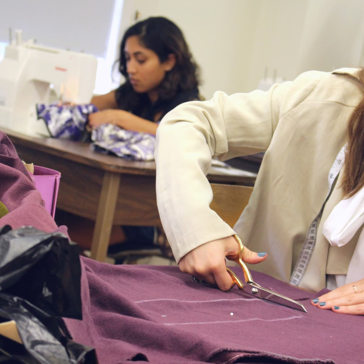 University of Texas fashion show Elements preview class April 2016 Avani Patel Taylor Litman