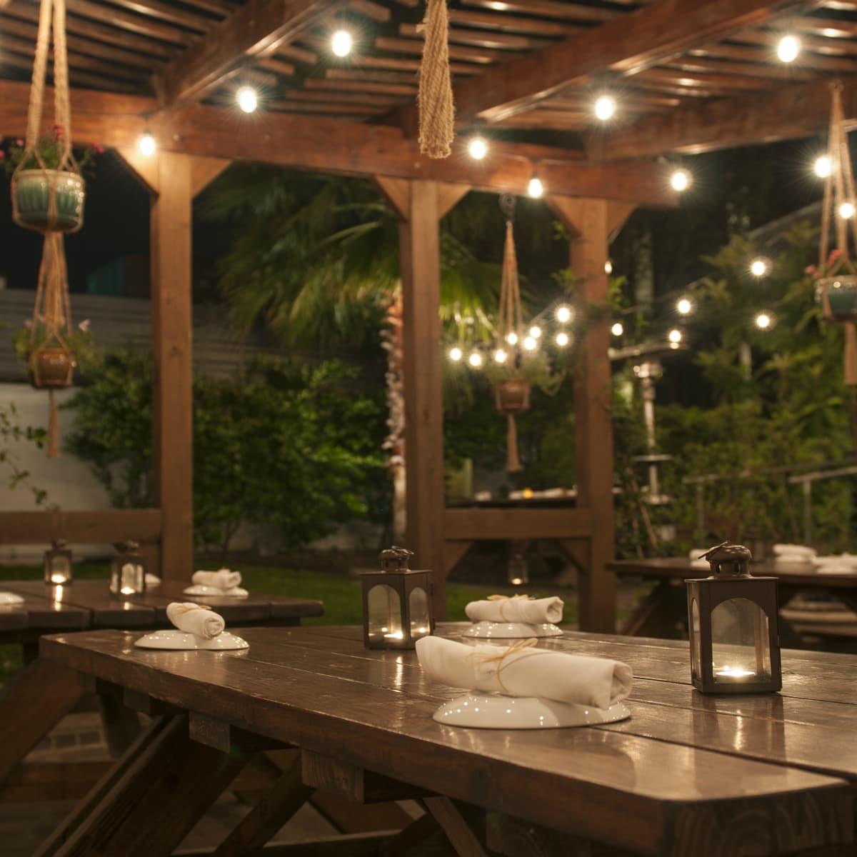 Cafe Josie Austin restaurant outside patio 2016