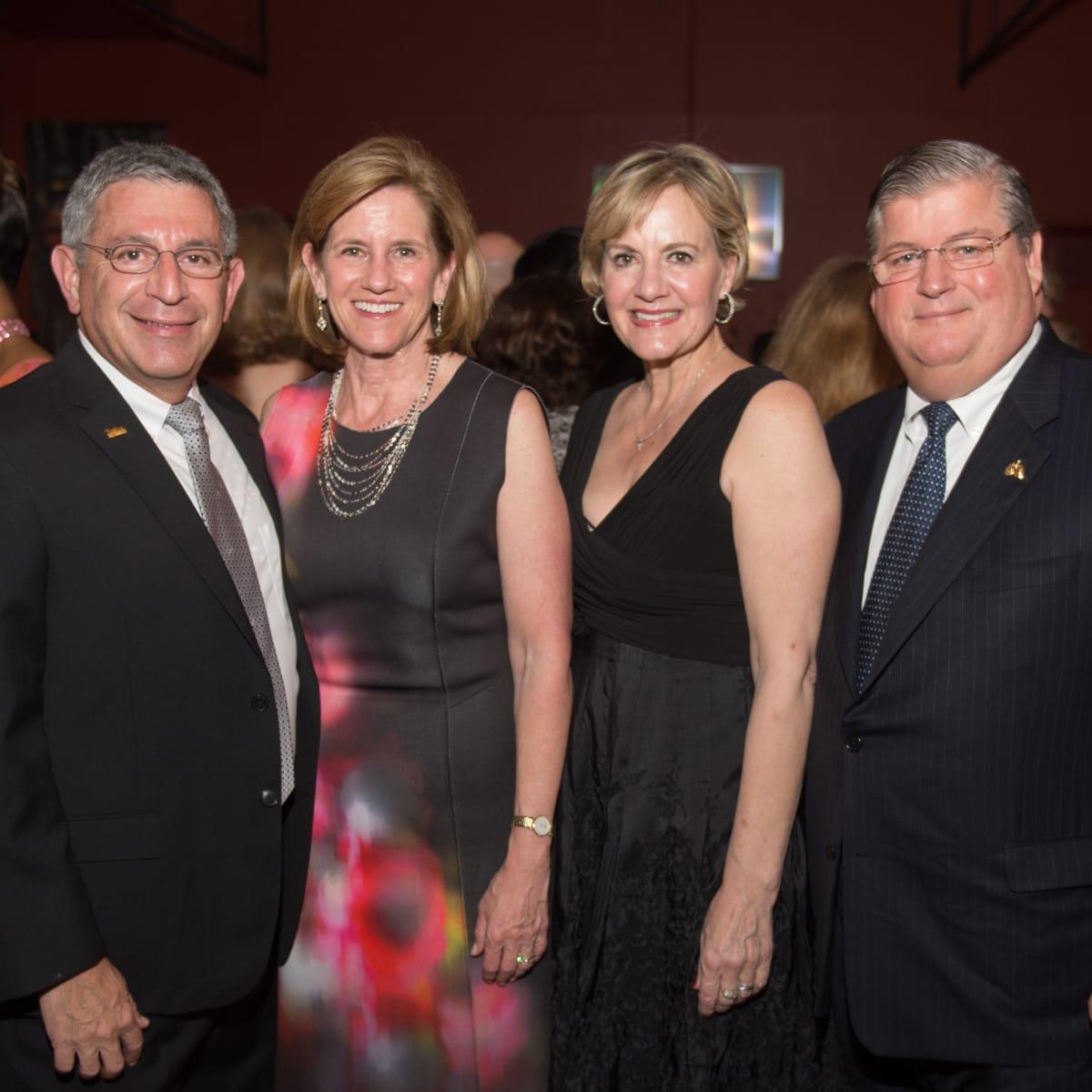 Baylor College of Medicine gala 4/16 Dr. Paul Klotman, Dr. Mary Klotman, Linda Sugarbaker, Dr. David Sugarbaker