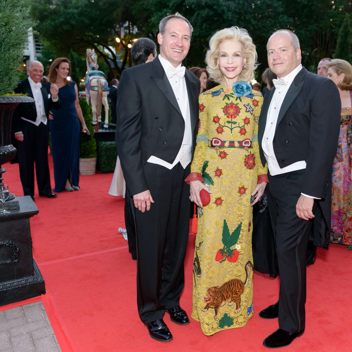 Houston Grand Opera Ball, April 2016 Beau Miller, Lynn Wyatt, Patrick Summers,
