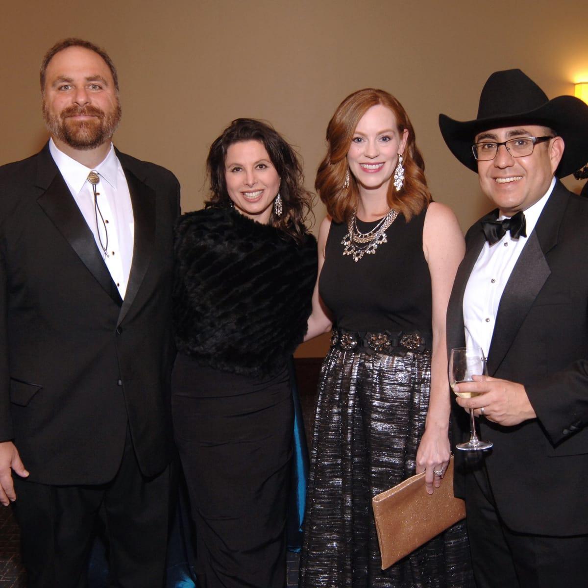 UH Law gala, April 2016, Judge Mike Engelhart, Eva Engelhart, Andria Rondon, Judge Reece Rondon