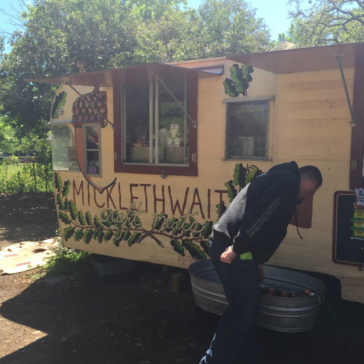 Micklethwait craft meats trailer