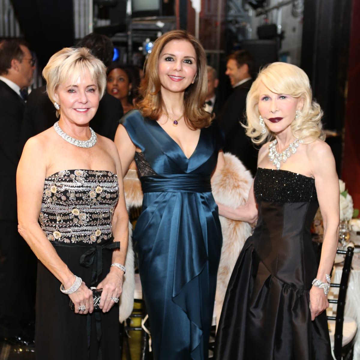 Mercury Gala, April 2016, Karen Mayell, Sally Moon Benz, Diane Lokey Farb