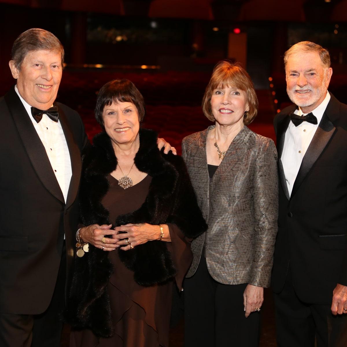 Mercury Gala, April 2016. Vey Spin, Brigid Spin, Linda Sparks, Tom Sparks