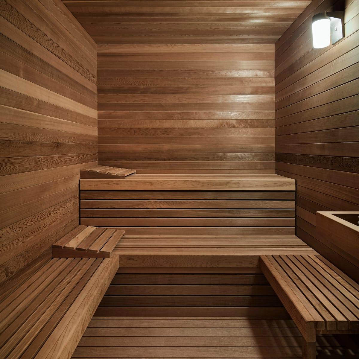 Austin home Floating Box House 900 Live Oak Circle West Lake Hills 78746 April 2016 sauna