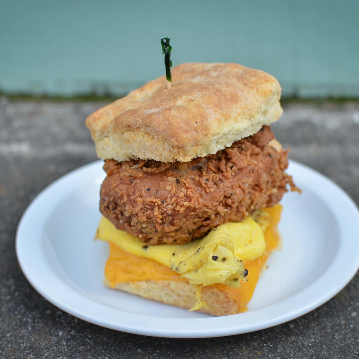 Revival Market Time Out chicken biscuit