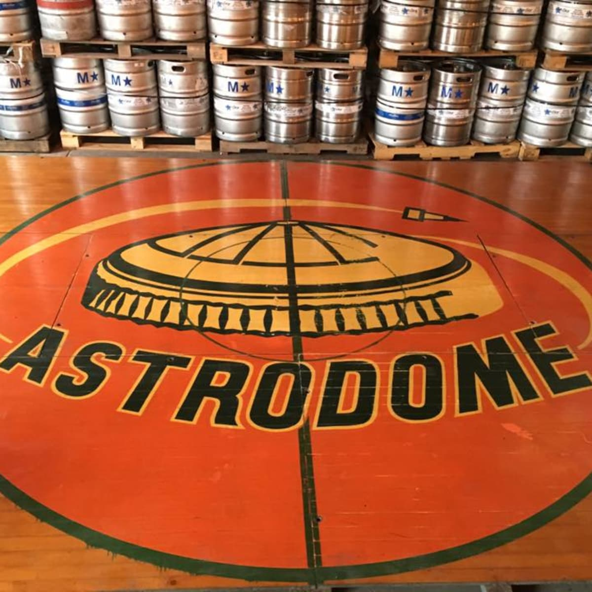 8th Wonder Brewery Astrodome floor