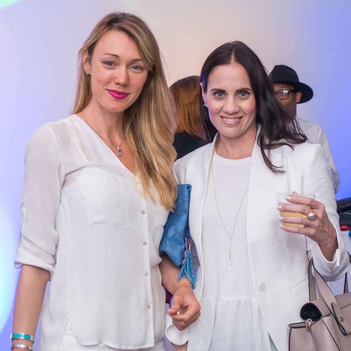 CultureMap Social, March 2016, Leslie Sharp, Gina Morgan