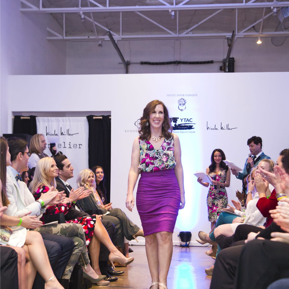 YTAC STRUT fashion show