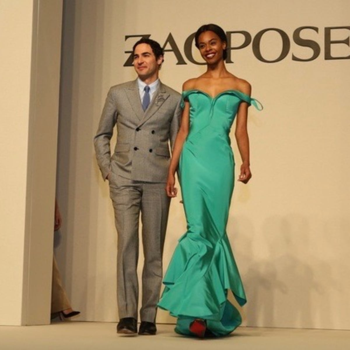 Best Dressed luncheon, March 2016, Zac Posen and gowns