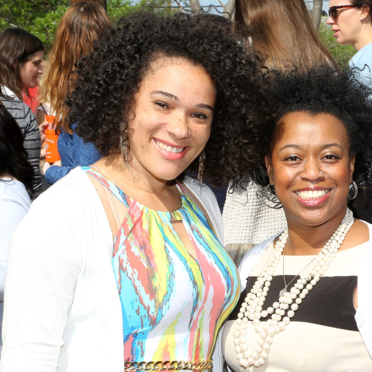 Women of Wardrobe Spring Fling, March 2016, Shanta Jamieson, Ja'Milla Lomas