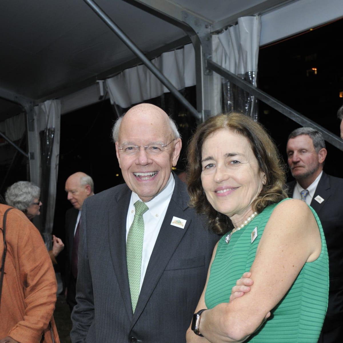 Hermann Park 100th Anny, March 2016, Bob Eury, Andrea White