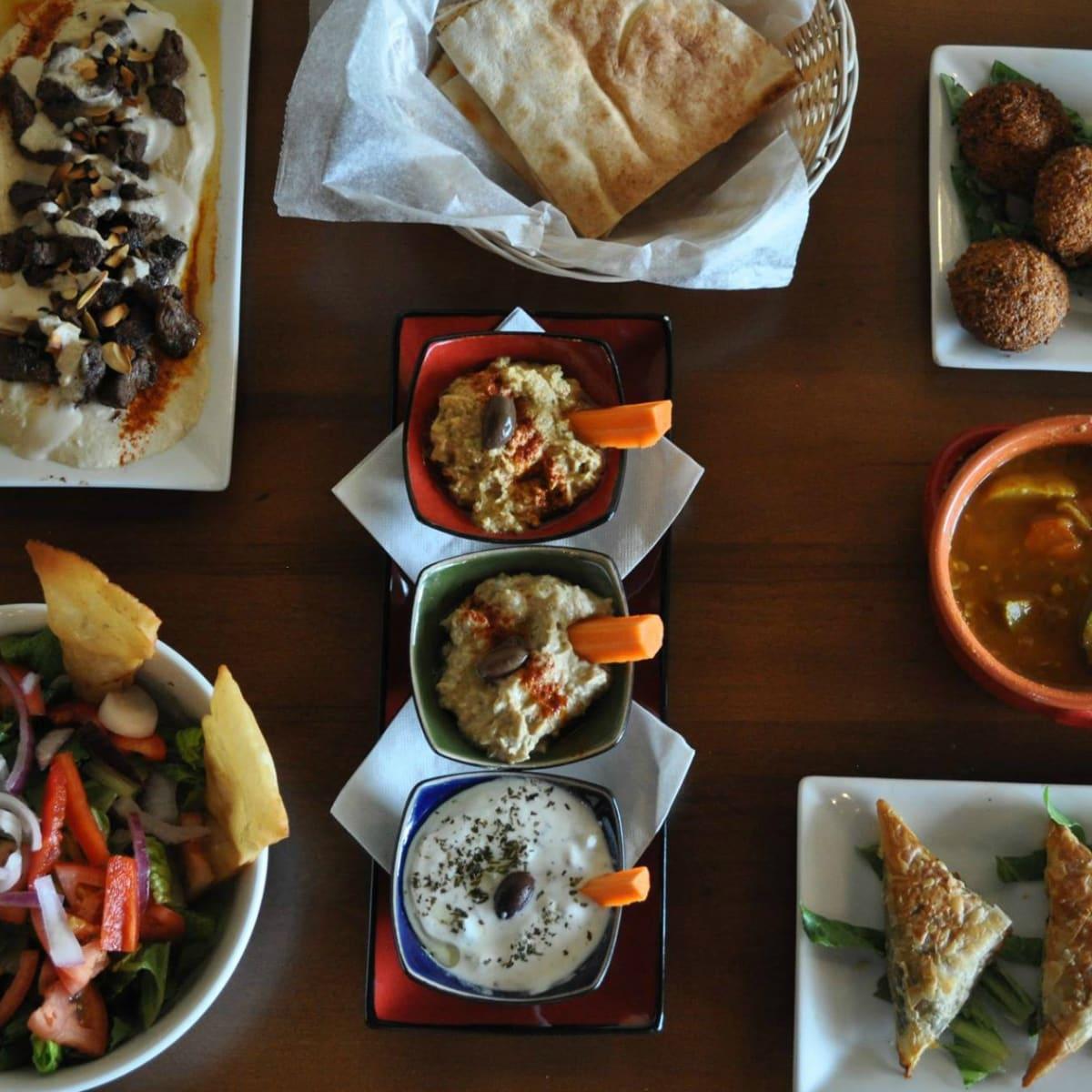 Marakesh Cafe & Grill Austin restaurant appetizers