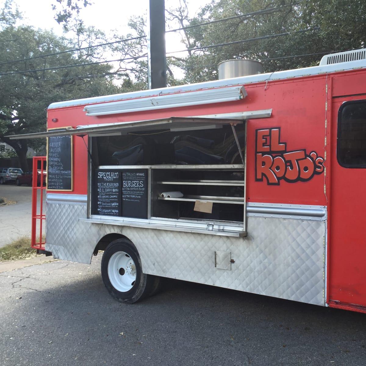 El Rojo's taco truck